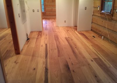 "5"" 7"" 9"" 11"" Character Grade Red Oak, Synteko Natural Oil Finish"
