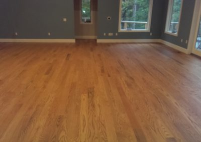 "5"" Select Red Oak, Monocoat Bourbon Finish"