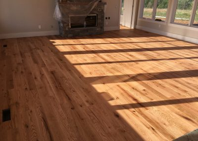 5 inch sound character red oak with Monocoat Pure finish 3