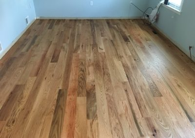 5 inch sound character red oak with Monocoat Pure finish