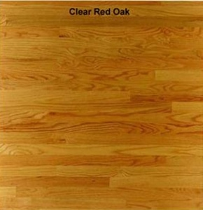 NOFMA Clear Red Oak